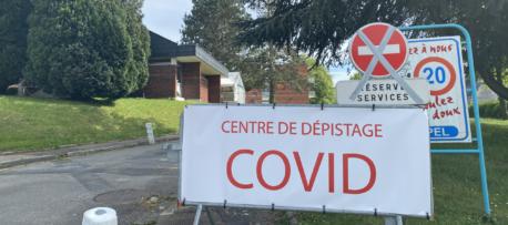 Un centre de dépistage Spécial Covid-19